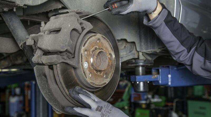 brake disc, workshop, auto